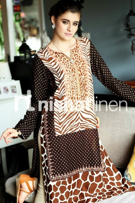 Beautiful-Girls-Wear-New-Fashion-Suits-by-Nishatlinen-PRET-Fall-Winter-Designs-VOL2-10