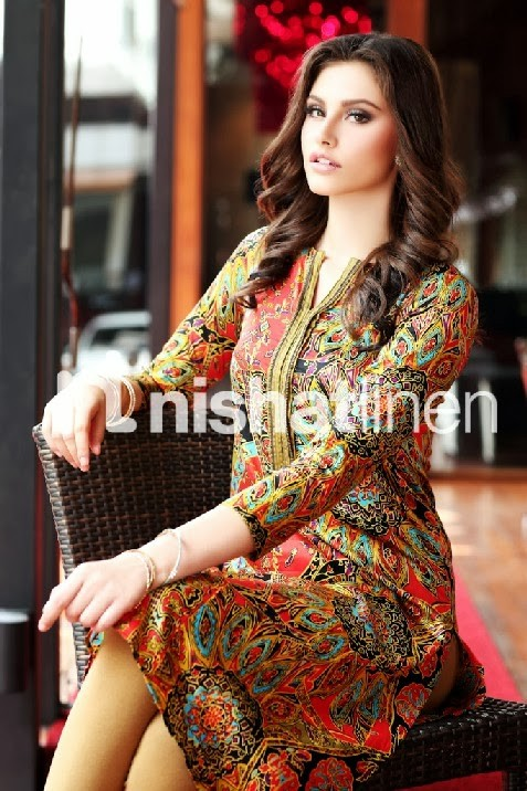 Nishatlinen Pret Autumn-Winter Dress Designs Collection 2013-2014 ...