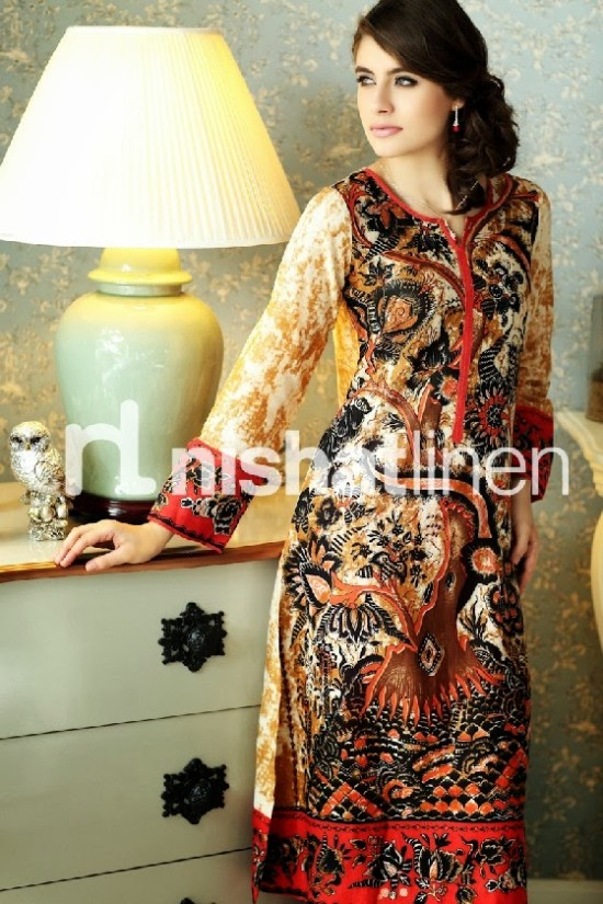 Beautiful-Girls-Wear-New-Fashion-Suits-by-Nishatlinen-PRET-Fall-Winter-Designs-VOL2-6