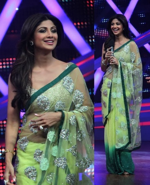 Bollywood-Indian Movies Actresses Celebrities Stars Wear Beautiful Designers Saree-Sari-1