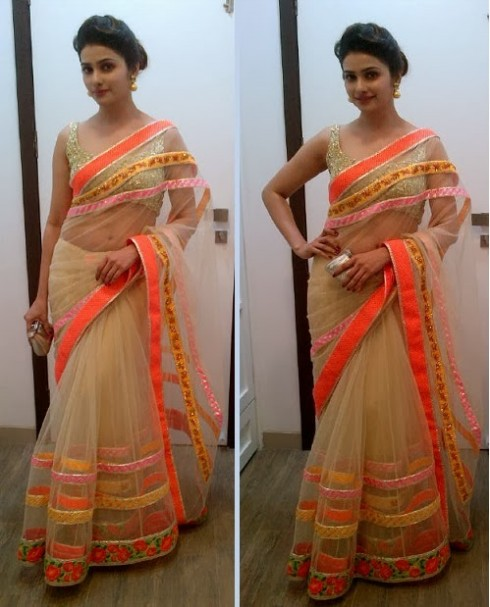Bollywood-Indian Movies Actresses Celebrities Stars Wear Beautiful Designers Saree-Sari-15