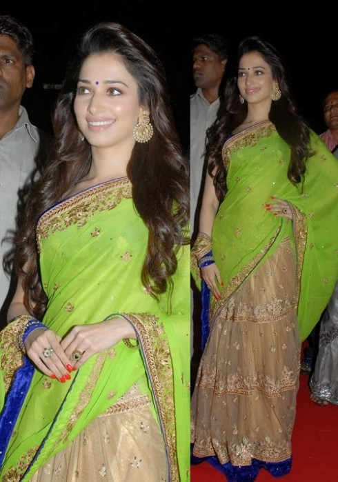 Bollywood-Indian Movies Actresses Celebrities Stars Wear Beautiful Designers Saree-Sari-3