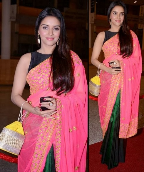 Bollywood-Indian Movies Actresses Celebrities Stars Wear Beautiful Designers Saree-Sari-4