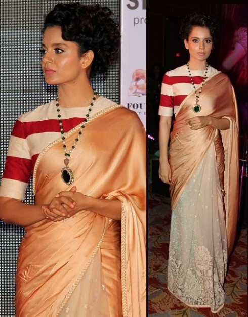 Bollywood-Indian Movies Actresses Celebrities Stars Wear Beautiful Designers Saree-Sari-6