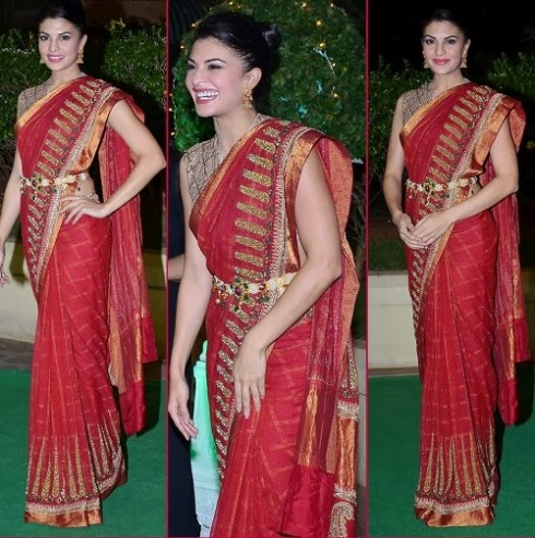 Bollywood-Indian Movies Actresses Celebrities Stars Wear Beautiful Designers Saree-Sari-8