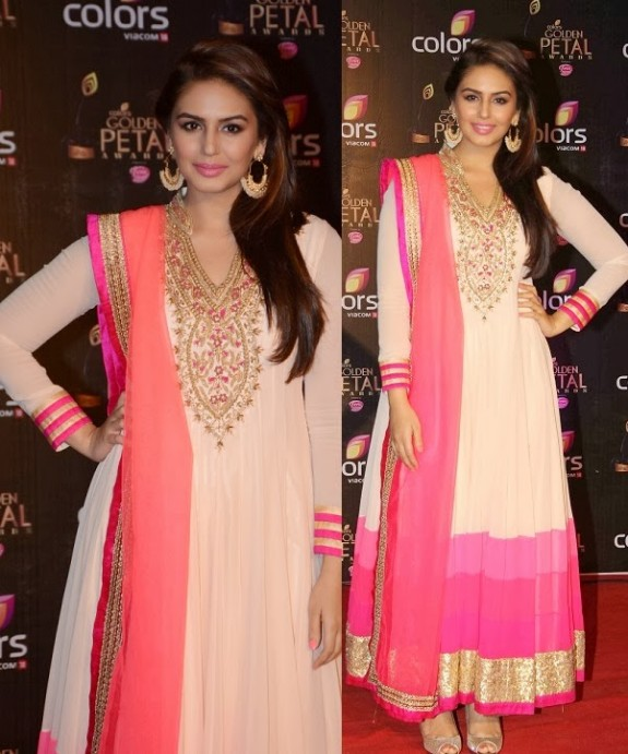 Bridal-Wedding-Wear-New-Fashion-Suit-Styles-at-Madhuri-Colors-Tv-3rd-Golden-Petal-Award-1