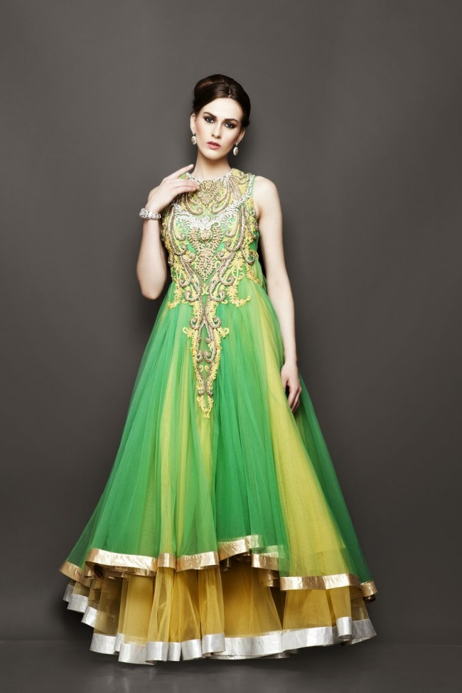 Bridesmaid-Brides-Wedding -Bridal-Gown-Lehenga-Dresses-New-Fashion-Outfits-1
