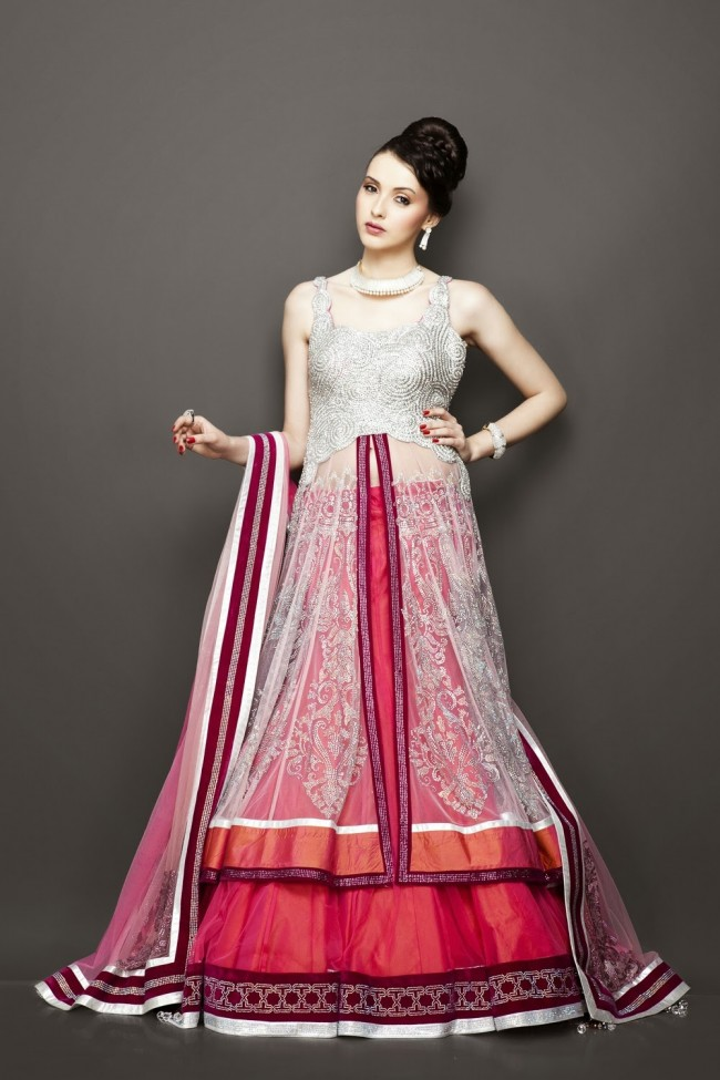 Bridesmaid-Brides-Wedding -Bridal-Gown-Lehenga-Dresses-New-Fashion-Outfits-10