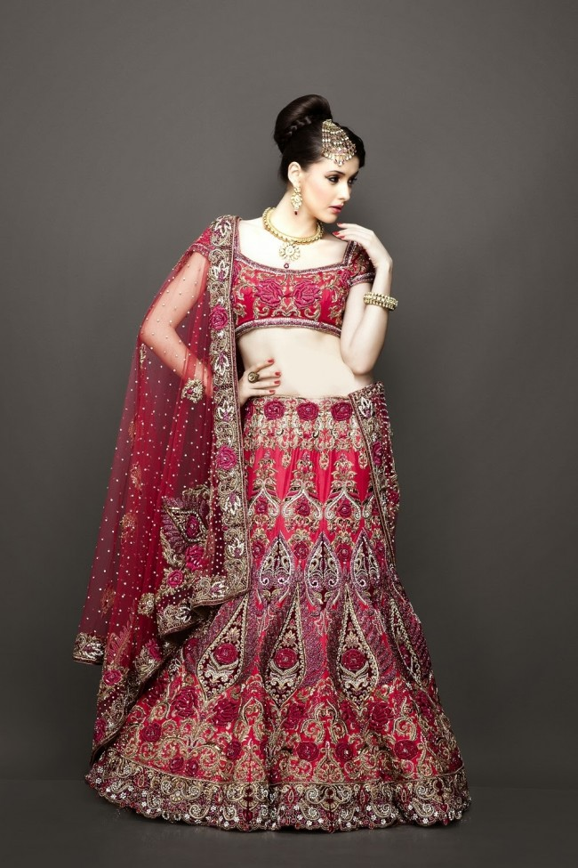 Bridesmaid-Brides-Wedding -Bridal-Gown-Lehenga-Dresses-New-Fashion-Outfits-12