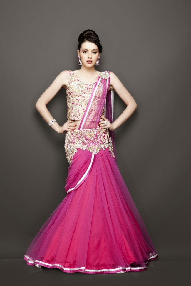 Bridesmaid-Brides-Wedding -Bridal-Gown-Lehenga-Dresses-New-Fashion-Outfits-13