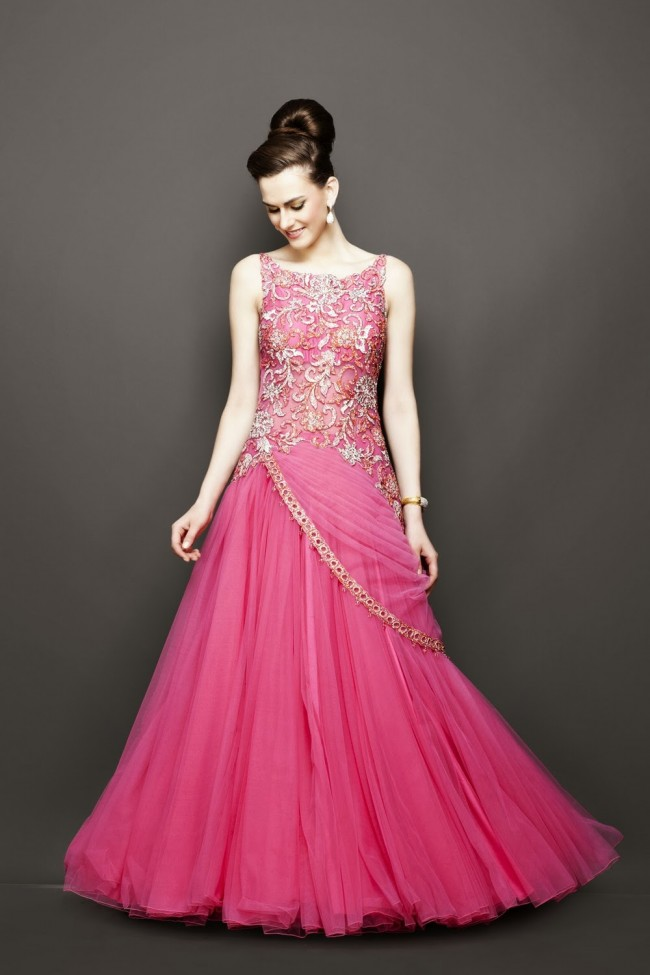 Bridesmaid-Brides-Wedding -Bridal-Gown-Lehenga-Dresses-New-Fashion-Outfits-15