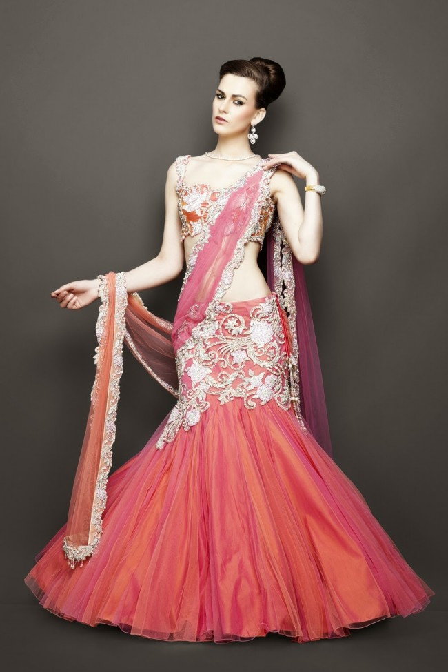 Bridesmaid-Brides-Wedding -Bridal-Gown-Lehenga-Dresses-New-Fashion-Outfits-16