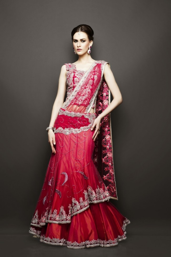 Bridesmaid-Brides-Wedding -Bridal-Gown-Lehenga-Dresses-New-Fashion-Outfits-18