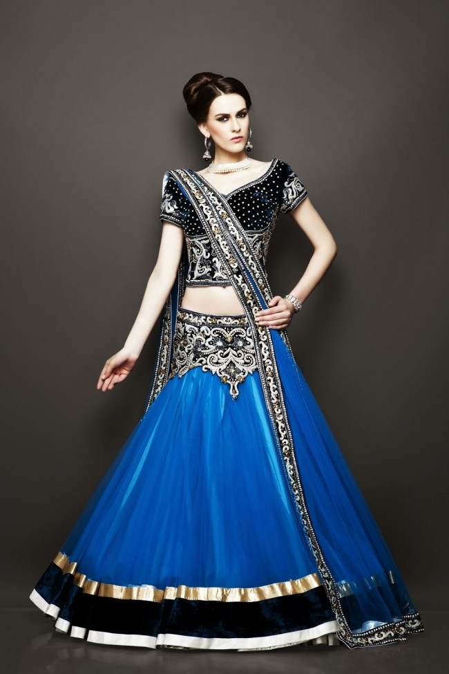 Bridesmaid-Brides-Wedding -Bridal-Gown-Lehenga-Dresses-New-Fashion-Outfits-5