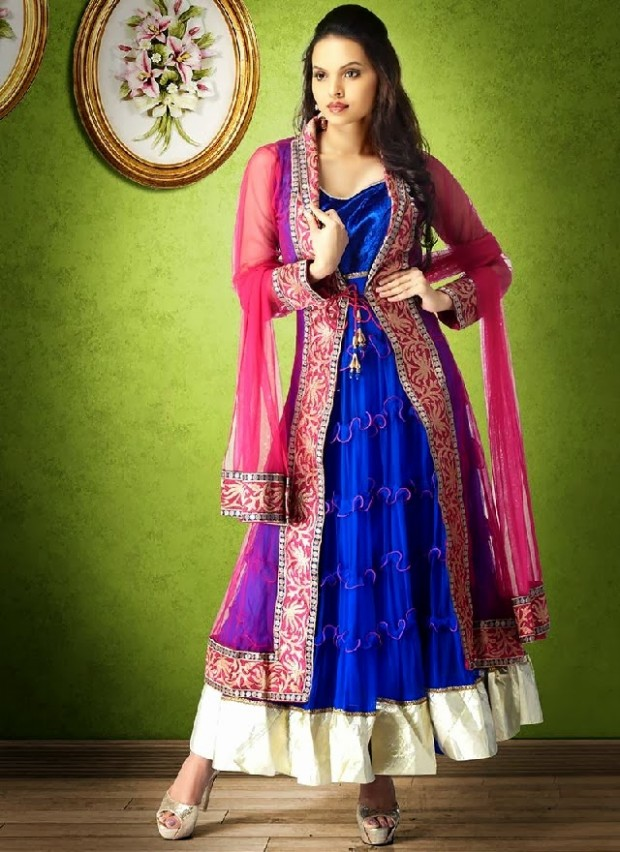 Beautiful-Girls-Party-Wear-Majestic-Indian-Anarkali-Shalwar-Kamiz-Suits-New-Fashion-Outfits-8