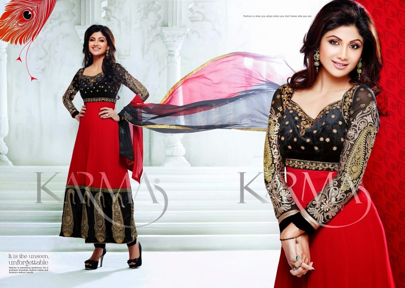 Shilpa-Shetty-Bollywood-Indian-Wear-Ankle-Length-Fancy-Anarkali-Frock-New-Fashion-Dress-10
