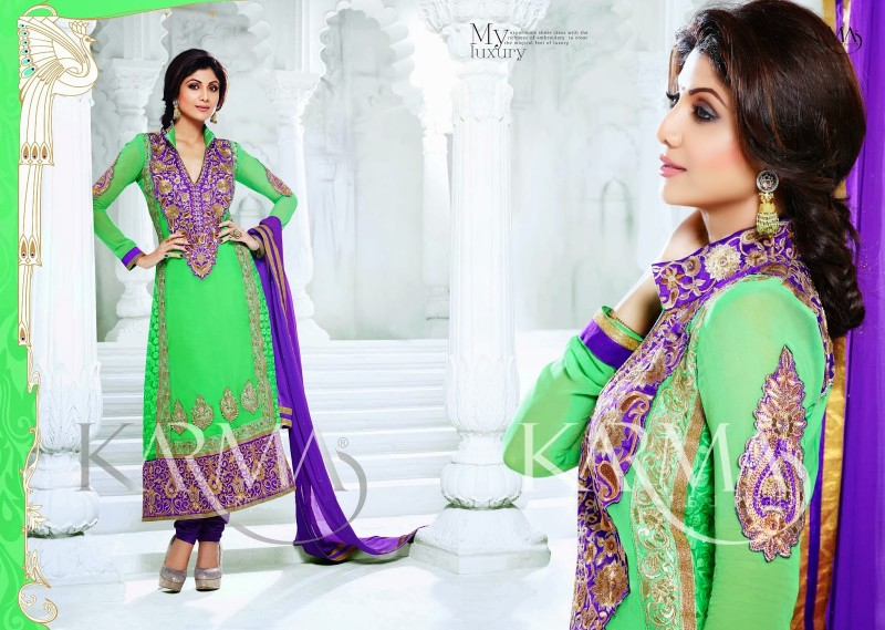 Shilpa-Shetty-Bollywood-Indian-Wear-Ankle-Length-Fancy-Anarkali-Frock-New-Fashion-Dress-5