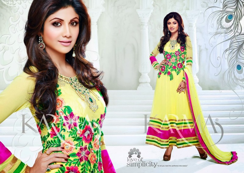 Shilpa-Shetty-Bollywood-Indian-Wear-Ankle-Length-Fancy-Anarkali-Frock-New-Fashion-Dress-7