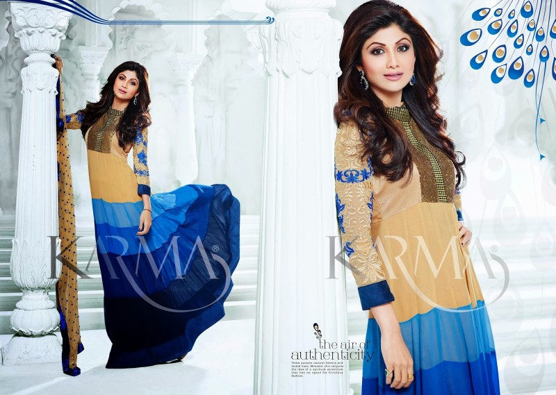 Shilpa-Shetty-Bollywood-Indian-Wear-Ankle-Length-Fancy-Anarkali-Frock-New-Fashion-Dress-