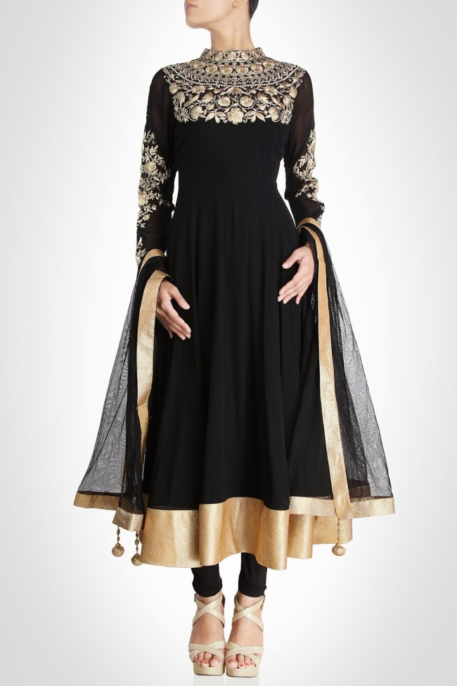 Exquisite Anarkali Frocks Churidar Salwar Kameez Dress 2014 With