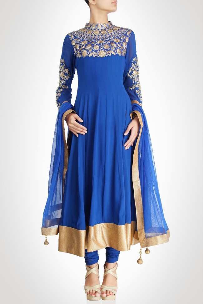 Girls-Women-Wear-Beautiful-Anarkali-Churidar-Gotazari-Frock-New-Fashion-Outfits-4