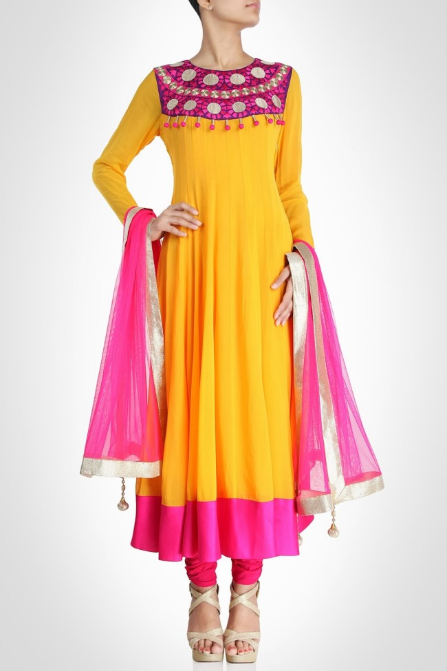 Girls-Women-Wear-Beautiful-Anarkali-Churidar-Gotazari-Frock-New-Fashion-Outfits-6