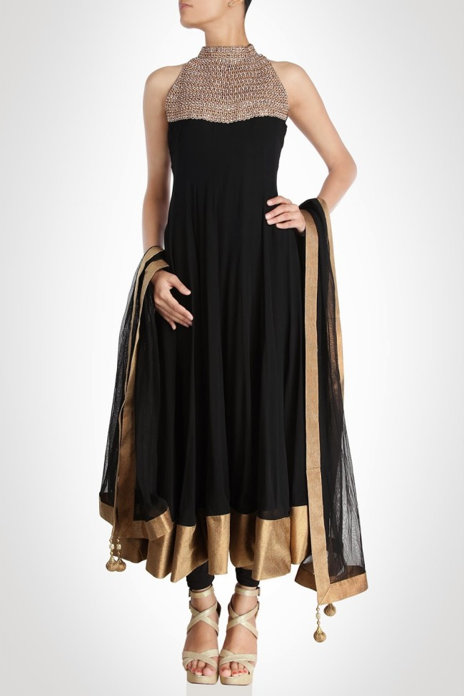 Girls-Women-Wear-Beautiful-Anarkali-Churidar-Gotazari-Frock-New-Fashion-Outfits-9