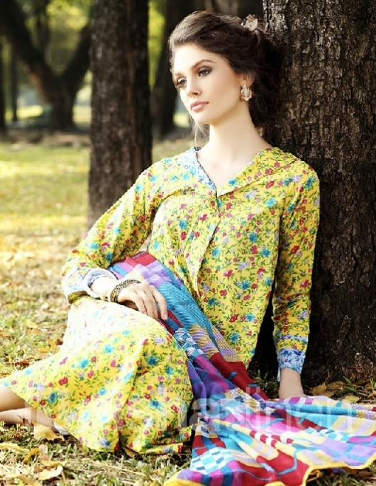 Nisha-Girls-Women-Wear-Beautiful-New-Fashion-Clothes-by-NishatLinen-Summer-Spring-Dress-1