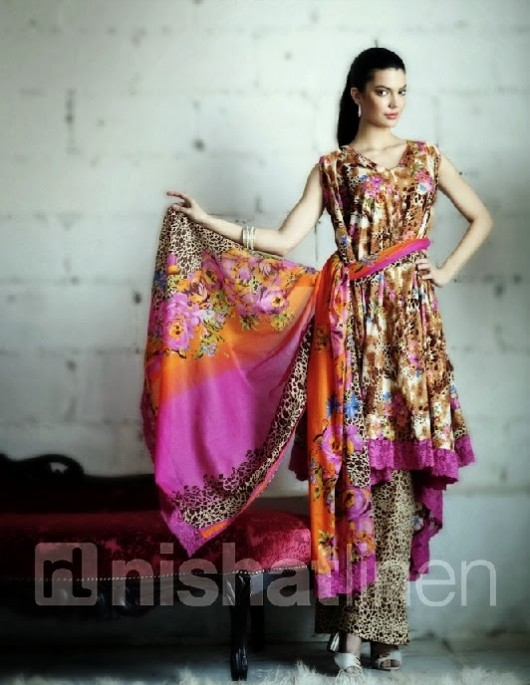 Nisha-Girls-Women-Wear-Beautiful-New-Fashion-Clothes-by-NishatLinen-Summer-Spring-Dress-2