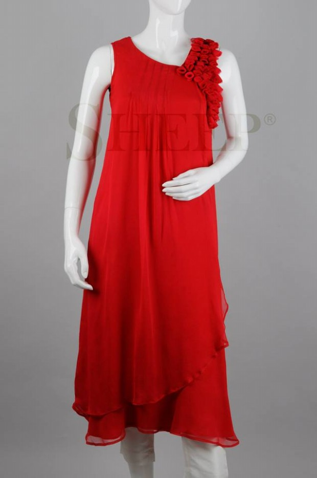 Valentines-Day-Beautiful-Dress-for-Girl-Womens-New-Fashion-by-Sheep-7
