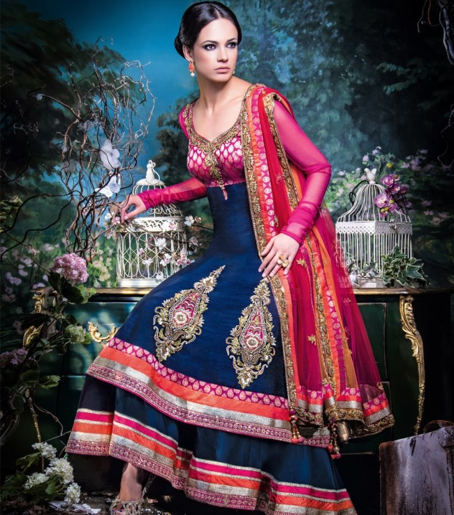 Wedding-Bridal-Occasional-Wear-Lehenga-Choli-Dress-Anarkali-Frock-New-Fashion-Outfits-2