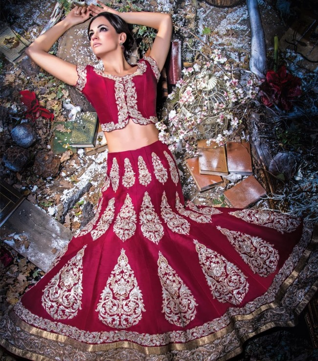 Wedding-Bridal-Occasional-Wear-Lehenga-Choli-Dress-Anarkali-Frock-New-Fashion-Outfits-5