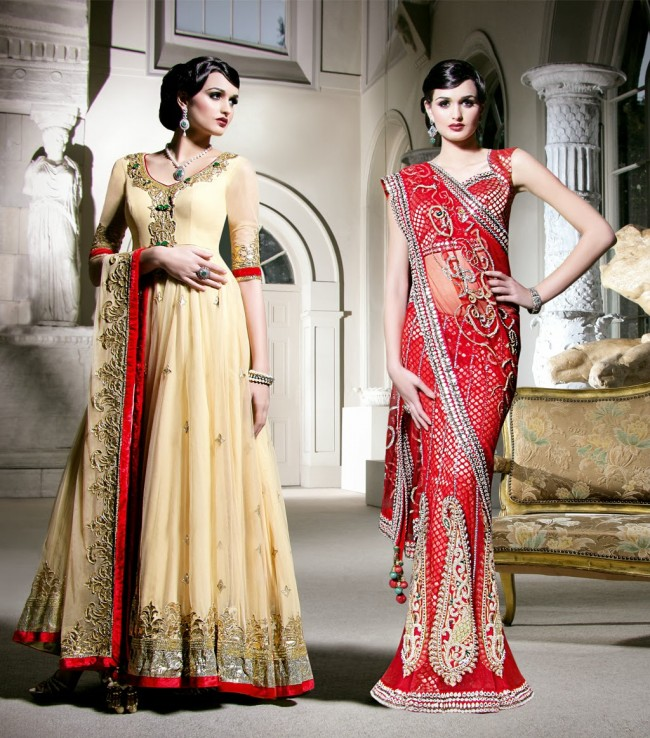 Wedding-Bridal-Occasional-Wear-Lehenga-Choli-Dress-Anarkali-Frock-New-Fashion-Outfits-6