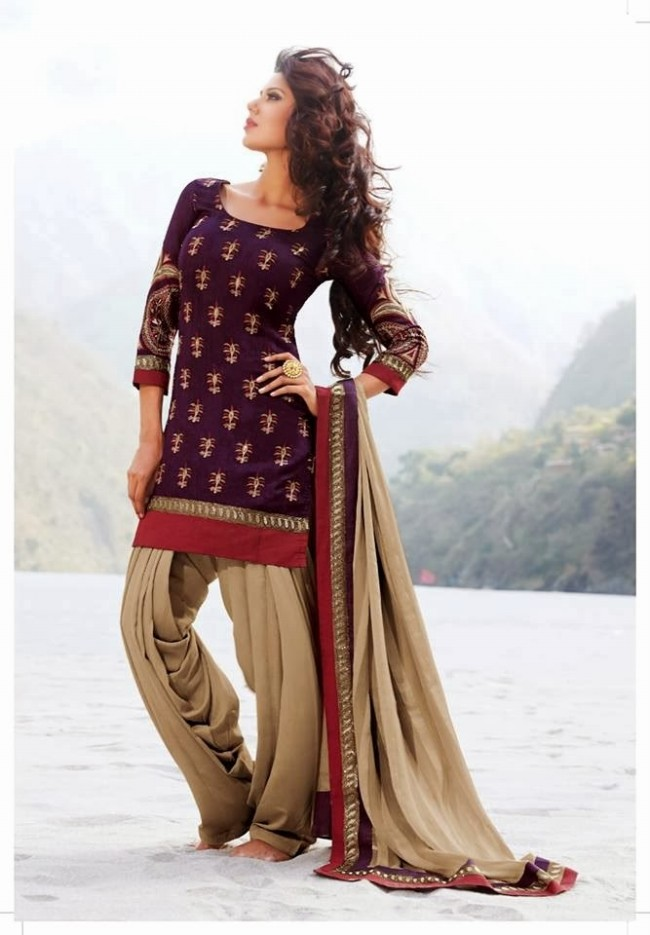 Womens-Girl-New-Fashion-Designer-Salwar-Kameez-Suits-Embroidered-Long-Shirt-Designs-Dress-10
