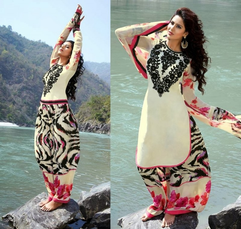 Womens-Girl-New-Fashion-Designer-Salwar-Kameez-Suits-Embroidered-Long-Shirt-Designs-Dress-2