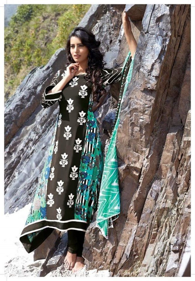 Womens-Girl-New-Fashion-Designer-Salwar-Kameez-Suits-Embroidered-Long-Shirt-Designs-Dress-7