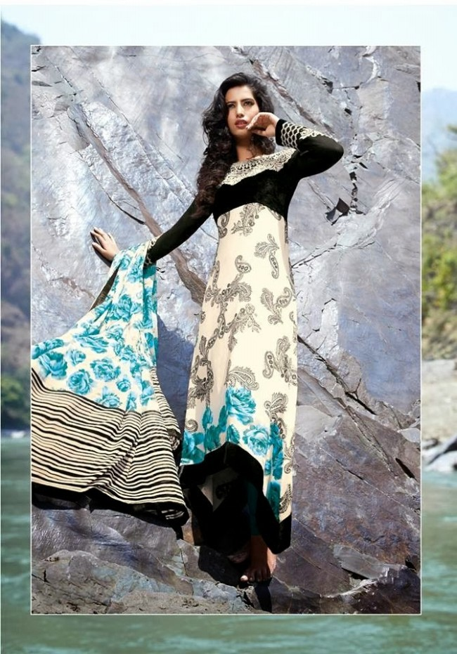Womens-Girl-New-Fashion-Designer-Salwar-Kameez-Suits-Embroidered-Long-Shirt-Designs-Dress-8