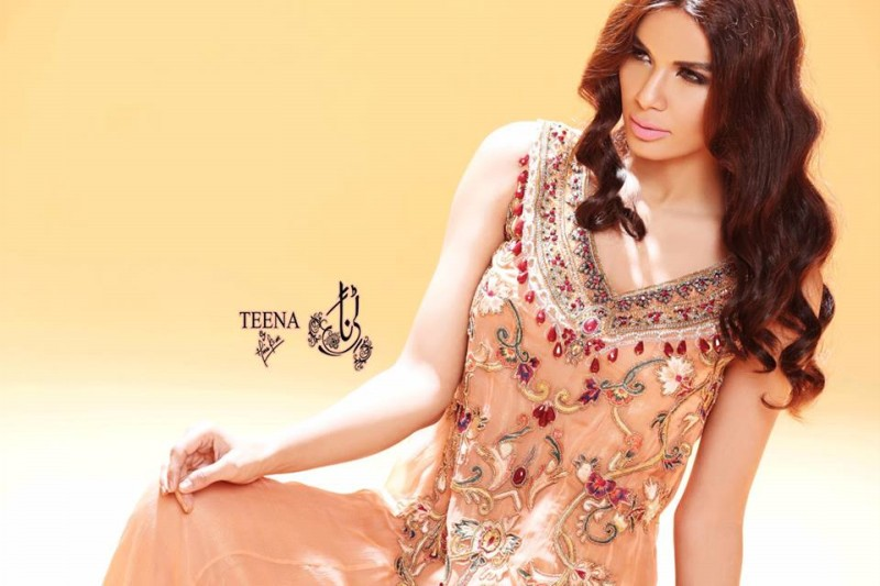Womens-Girl-New-Fashion-Summer-Spring-Casual-Formal-Party-Wear-Suits-Teena-by-Hina-Butt-