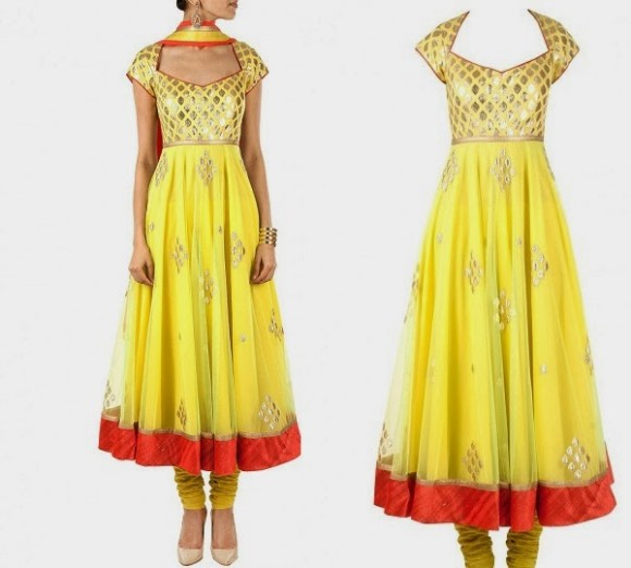 Beautiful-Girls-Wear-Indian-Wedding-Bridal-Suits-New-Fashion-Outfits-by-Designer-Amrita-Thakur-4