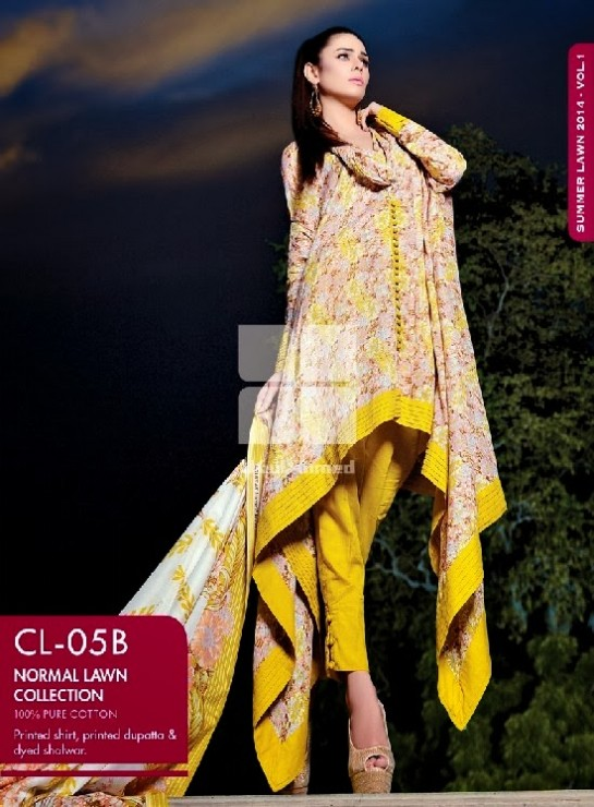 Girls-Wear-Summer-Dress-Chunri-Prints-Block-Prints-Embroidered-Single-Lawn-New-Fashion-Suits-by-Gul-Ahmed-11