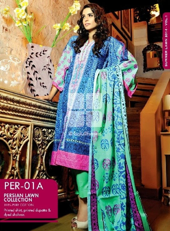 Girls-Wear-Summer-Dress-Chunri-Prints-Block-Prints-Embroidered-Single-Lawn-New-Fashion-Suits-by-Gul-Ahmed-18
