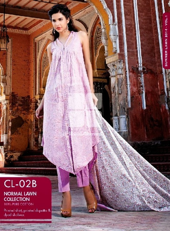 Girls-Wear-Summer-Dress-Chunri-Prints-Block-Prints-Embroidered-Single-Lawn-New-Fashion-Suits-by-Gul-Ahmed-6