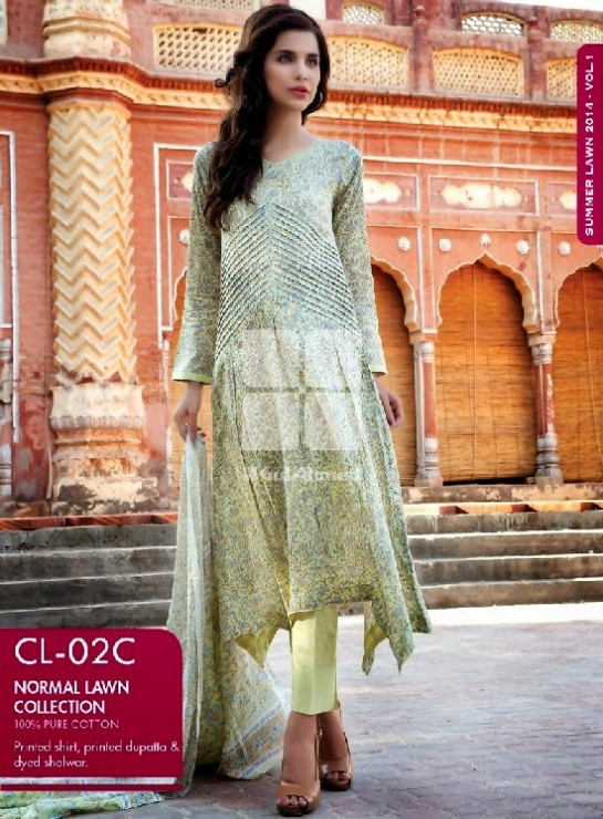 Girls-Wear-Summer-Dress-Chunri-Prints-Block-Prints-Embroidered-Single-Lawn-New-Fashion-Suits-by-Gul-Ahmed-8