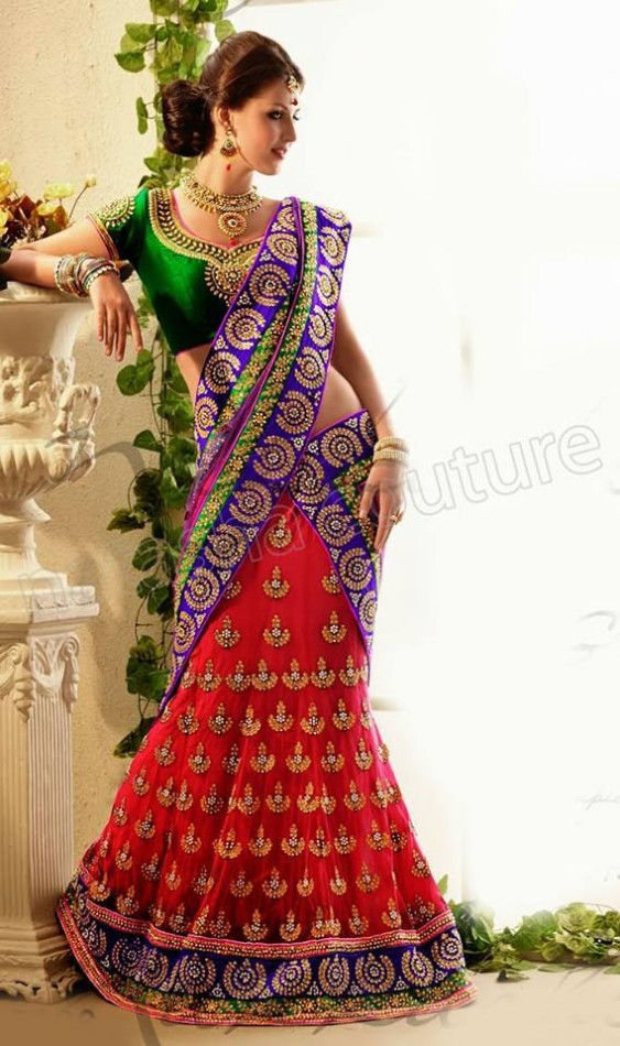 New-Fashion-Outfits-Bridals-Wedding-Brides-Wear-Lehenga-Choli-Sarees-Dress-by-Natasha-Couture-17