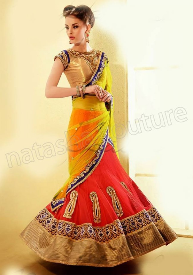New-Fashion-Outfits-Bridals-Wedding-Brides-Wear-Lehenga-Choli-Sarees-Dress-by-Natasha-Couture-6