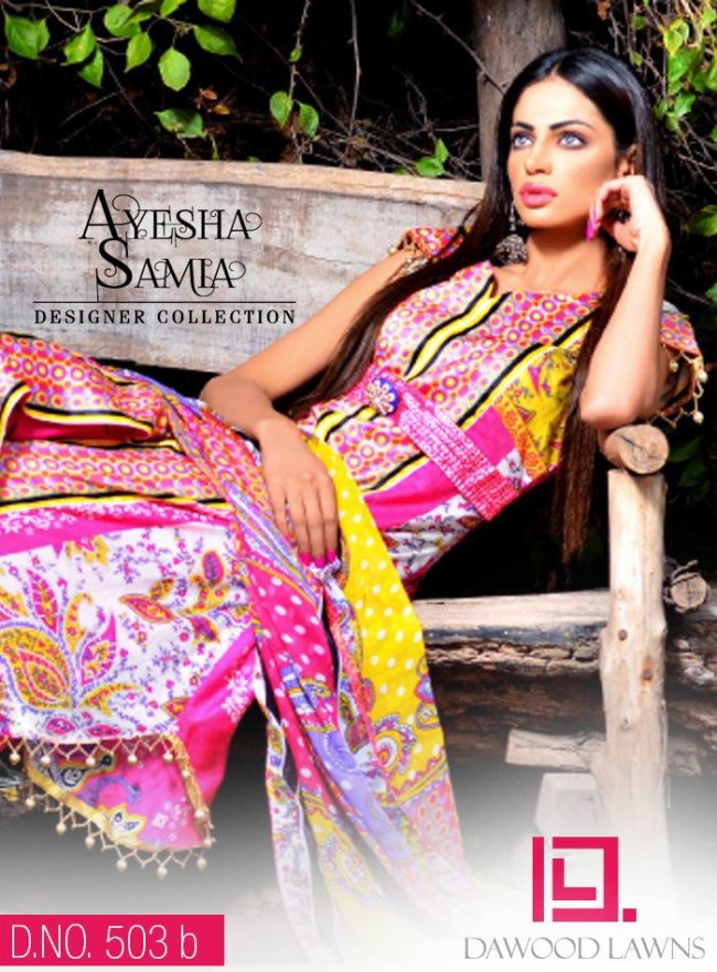 Womens-Girl-Wear-Beautiful-New-Fashion-Embroidered-Suits-by-Dawood-Lawn-Dress-1