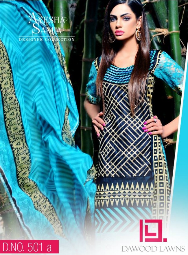 Womens-Girl-Wear-Beautiful-New-Fashion-Embroidered-Suits-by-Dawood-Lawn-Dress-11