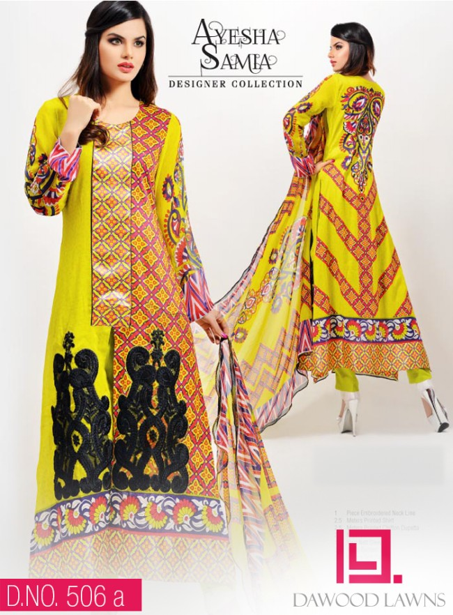 Womens-Girl-Wear-Beautiful-New-Fashion-Embroidered-Suits-by-Dawood-Lawn-Dress-12