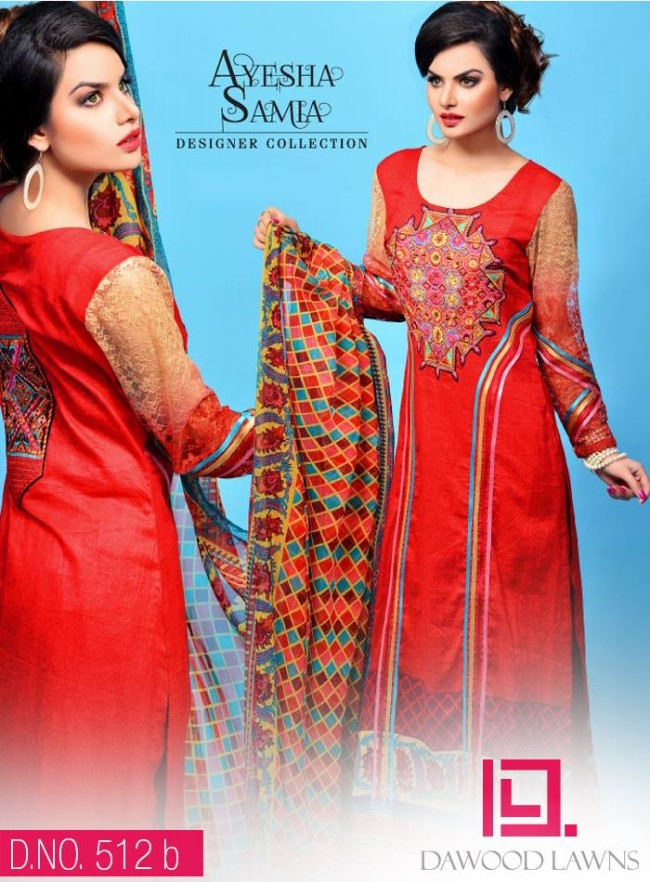 Womens-Girl-Wear-Beautiful-New-Fashion-Embroidered-Suits-by-Dawood-Lawn-Dress-13