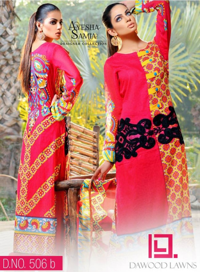 Womens-Girl-Wear-Beautiful-New-Fashion-Embroidered-Suits-by-Dawood-Lawn-Dress-16